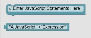 Визуальные блоки с текстовым кодом в Espruino Web IDE